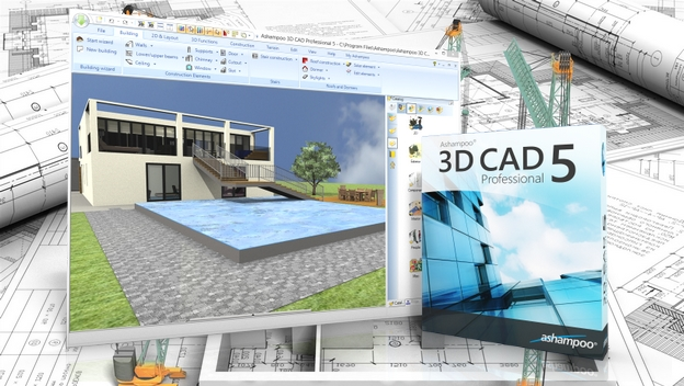 Ashampoo 3d cad professional 5 dise a edificios y for Programas de 3d para arquitectos