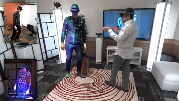 Holoportation, así es el teletransporte holográfico del futuro