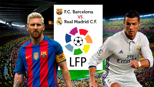 C mo ver el cl sico de liga barcelona vs real madrid en for Futbol real madrid hoy