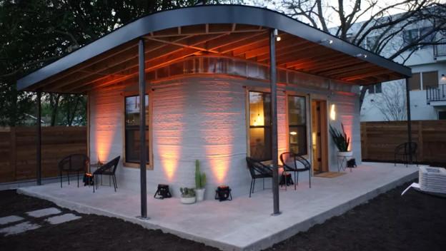 Así es la casa impresa en 3D de sólo 8.000 euros