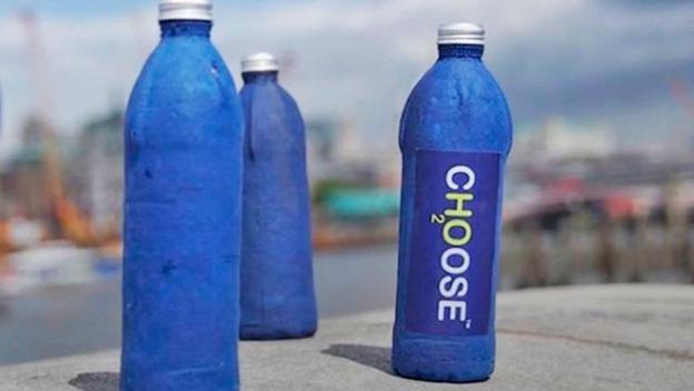 Esta botella de agua es capaz de descomponerse tras sólo tres semanas