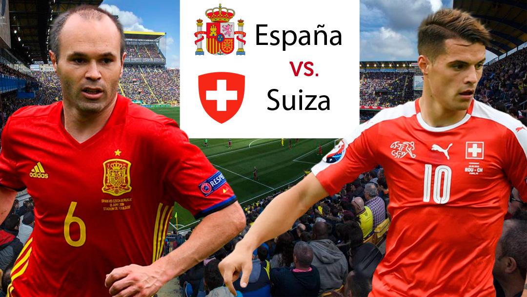 España vs Suiza: dónde ver gratis por TV e Internet