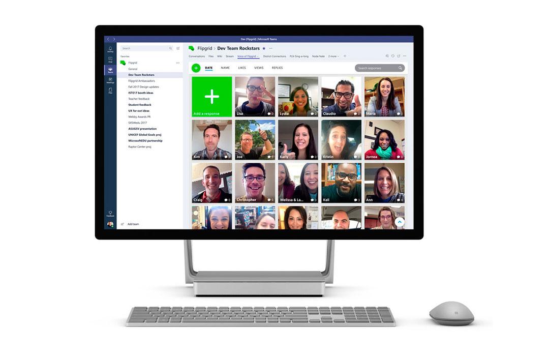 Microsoft compra Flipgrid para ganar impulso en la educación