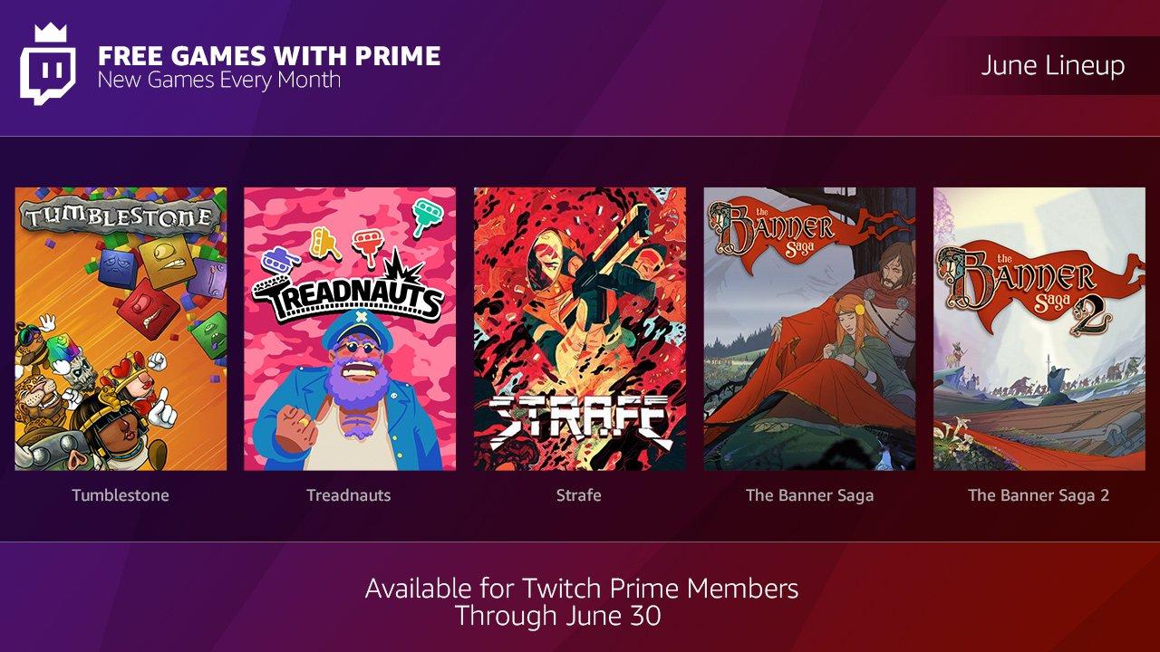 Los juegos gratis de Twitch en Junio son excelentes