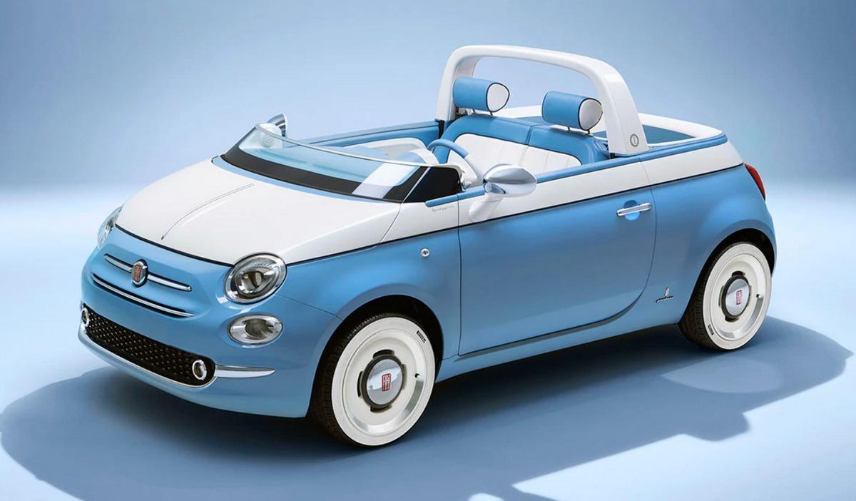 El Fiat 500 Sport cumple 60 años y lo celebra con un Fiat 500 Spiaggina descapotable