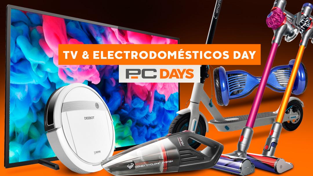 PcDays de PcComponentes: rebajas en televisores y electrodomésticos