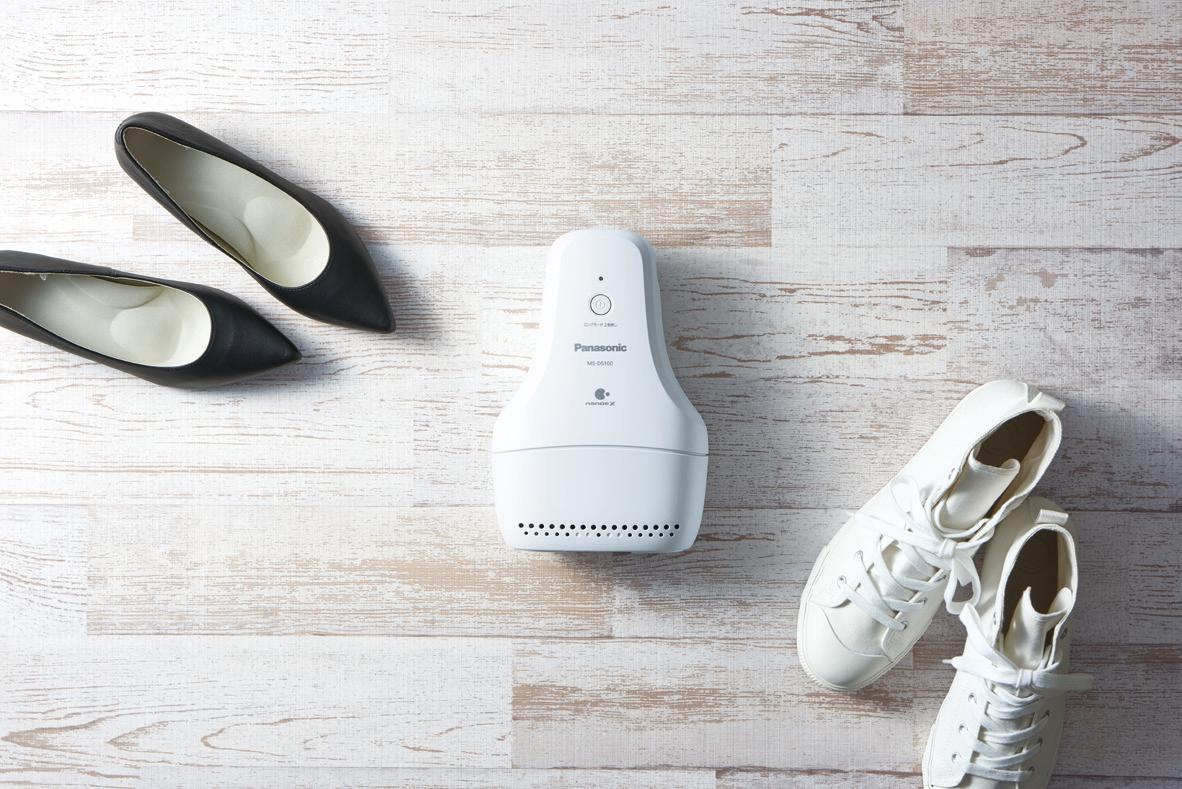 El desodorizante de Panasonic destruye el mal olor de tus zapatillas deportivas