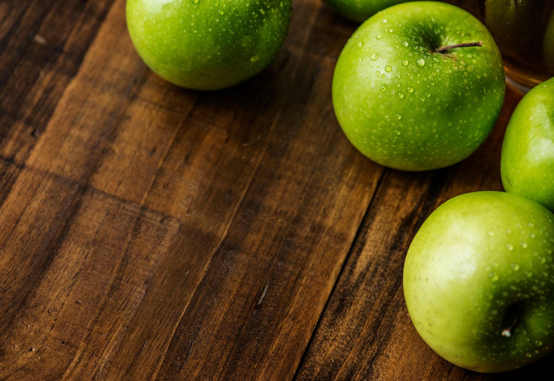 ver la dieta de la manzana verde