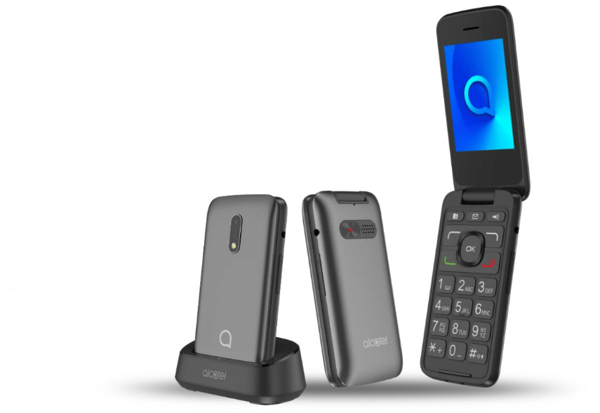 Alcatel 3026 Senior Phone, un móvil simple y pensado para personas mayores