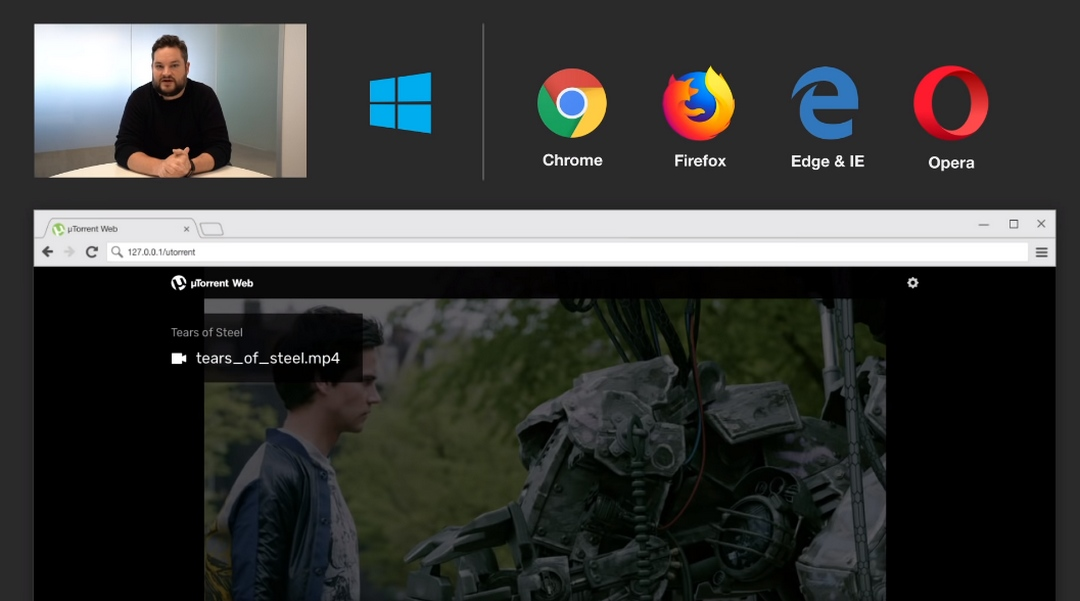 BitTorrent estrena uTorrent Web, para descargar a través de Torrent desde el navegador