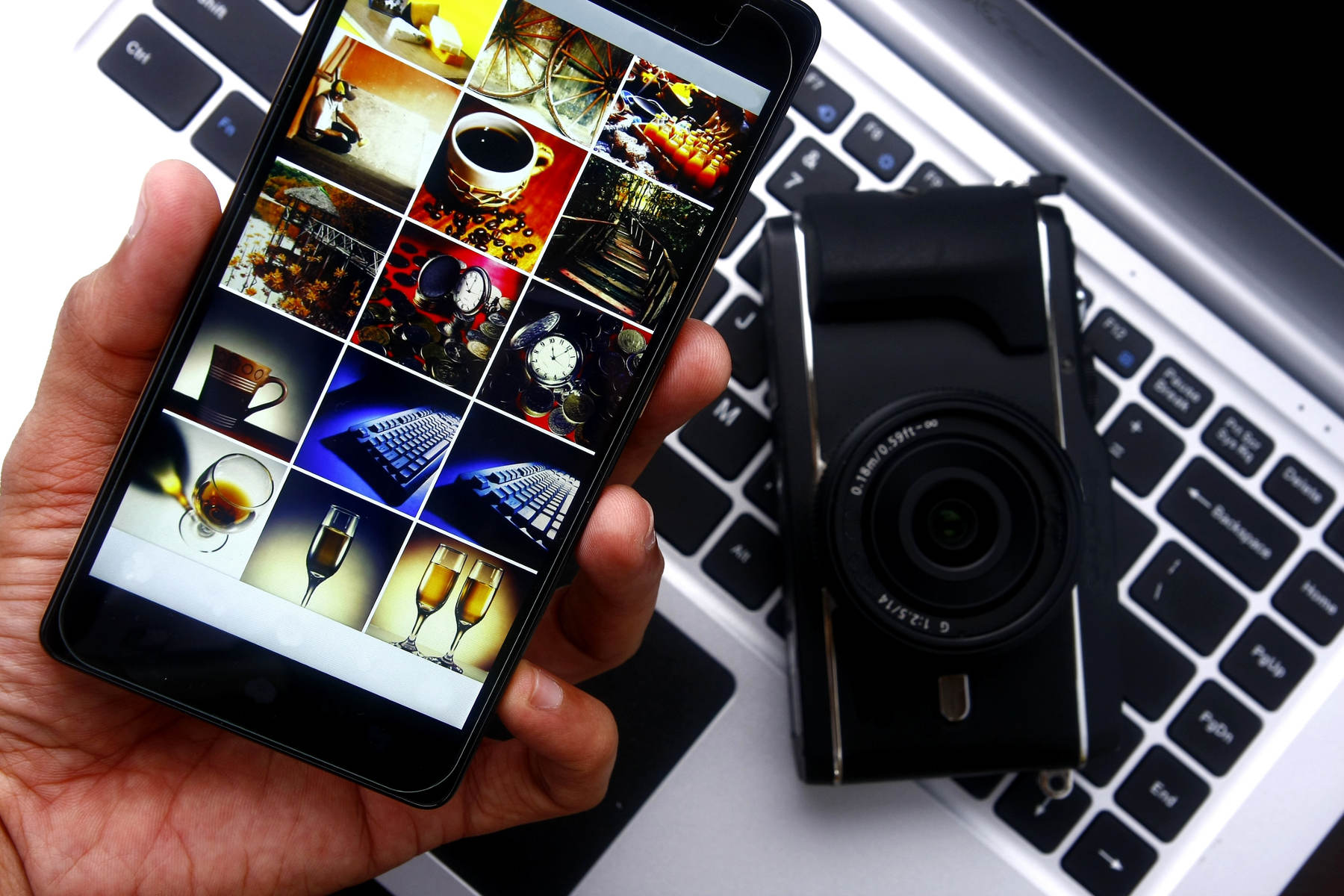 Las mejores aplicaciones para ordenar las fotografías de tu móvil