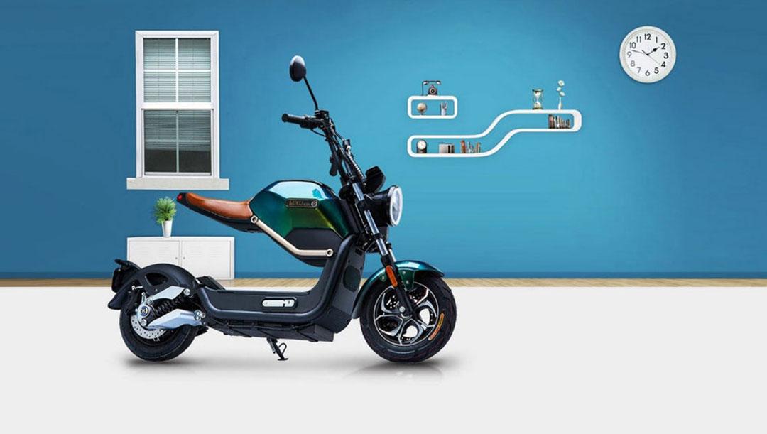 Miku Max, una scooter eléctrica que atrae todas las miradas