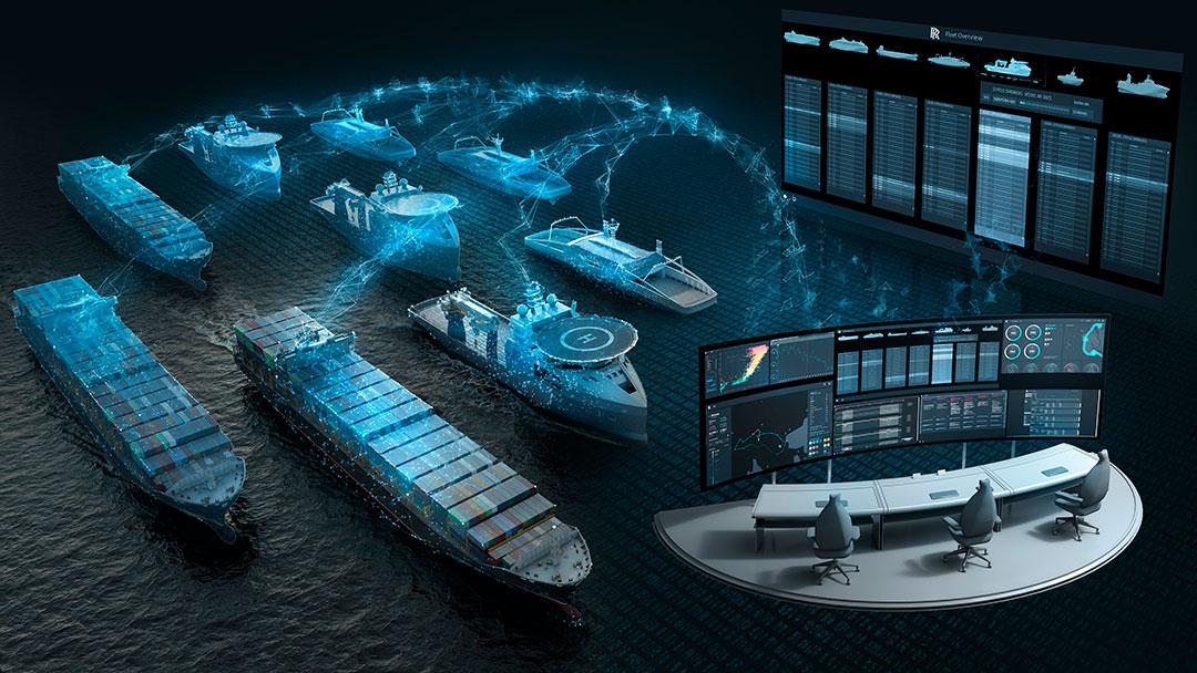 Intel y Rolls-Royce se asocian para crear barcos autónomos