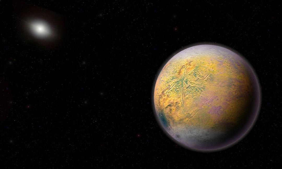 Descubren un nuevo planeta en los límites del Sistema Solar