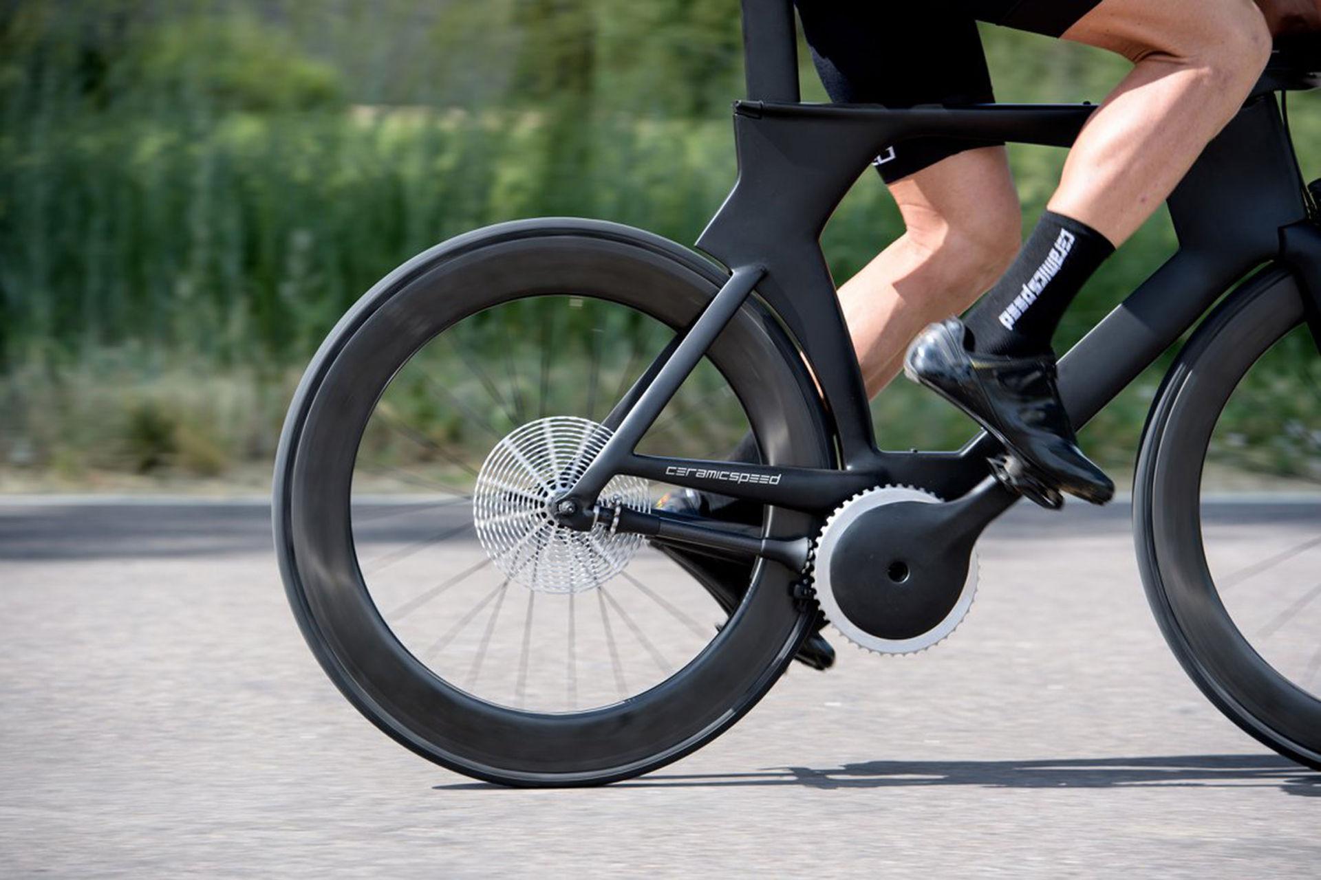 Así es la nueva bicicleta sin cadena con cambios automáticos