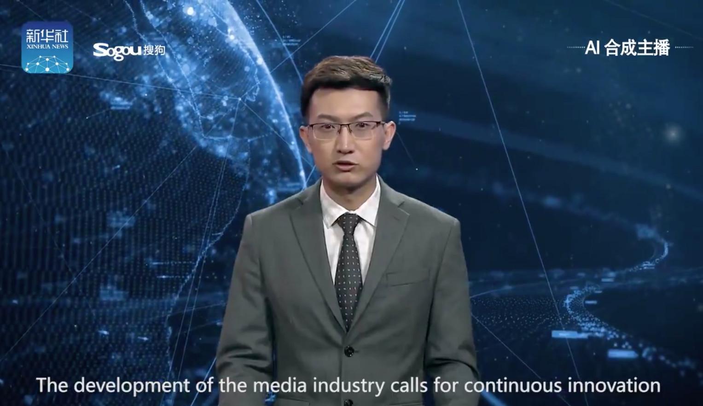Esta inteligencia artificial ya presenta los informativos en China