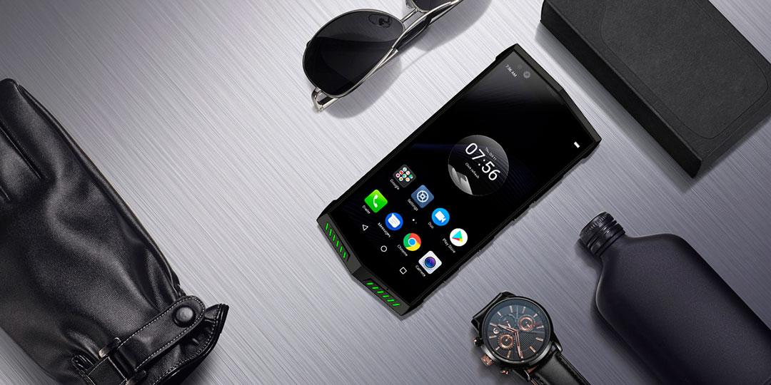 Poptel P60, el móvil robusto con cámara dual IA y desbloqueo facial