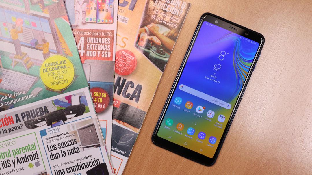 942135a6f7a Samsung Galaxy A7 2018: características, precio y opiniones - Fichas de  móviles en ComputerHoy.com