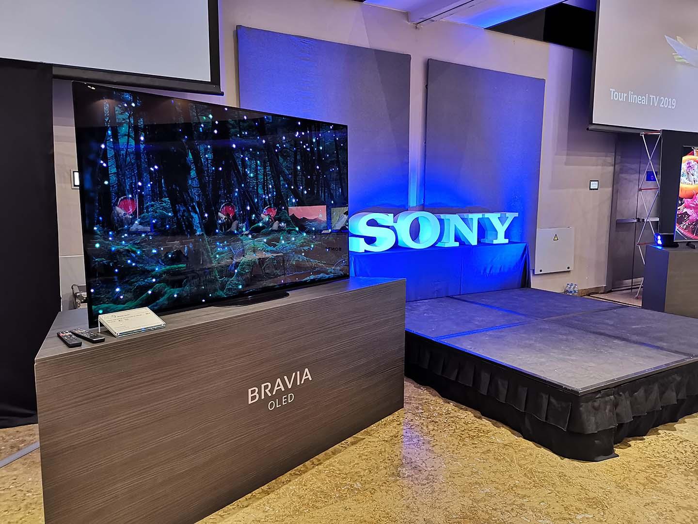 5a6d9b22c7391 Esta es la gama de televisores y altavoces de Sony para 2019 ...