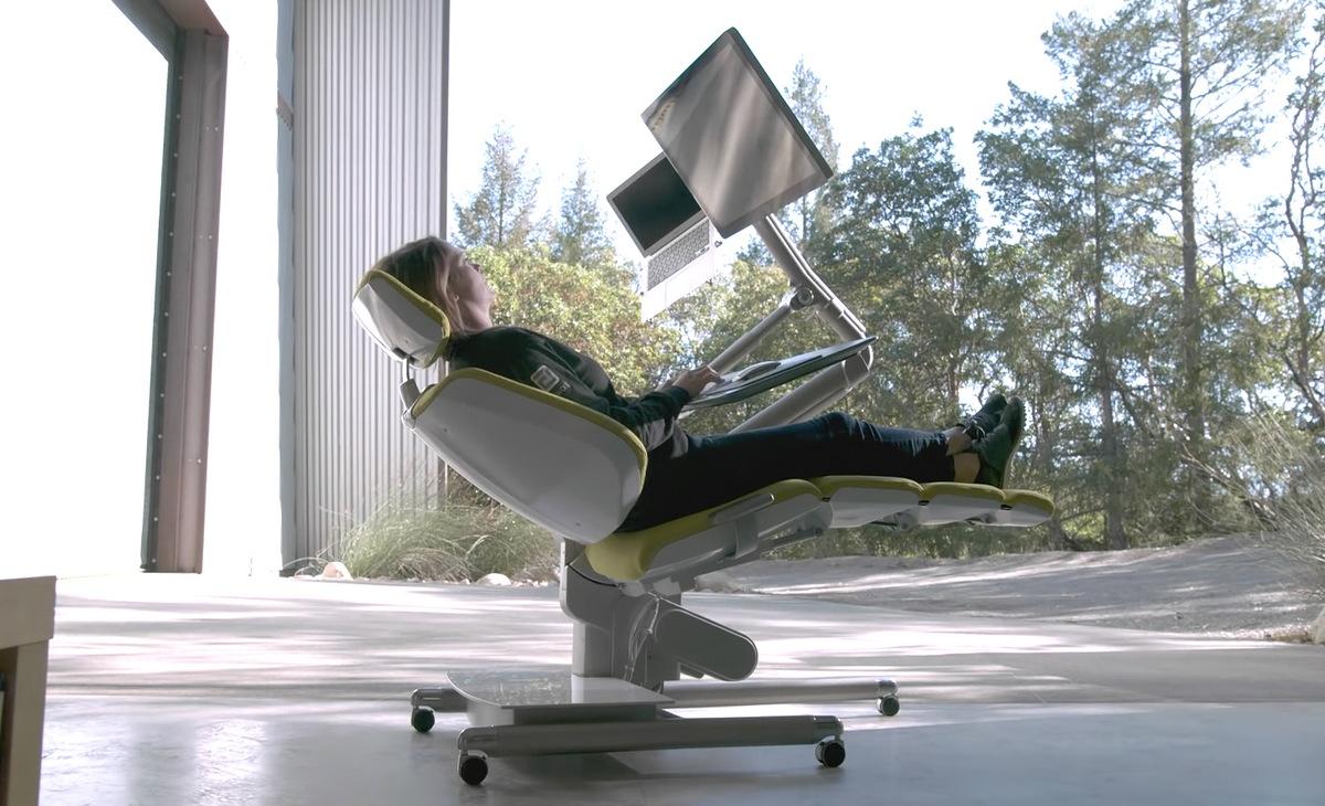 Altwork station la silla de ordenador para trabajar for Sillas comodas para trabajar