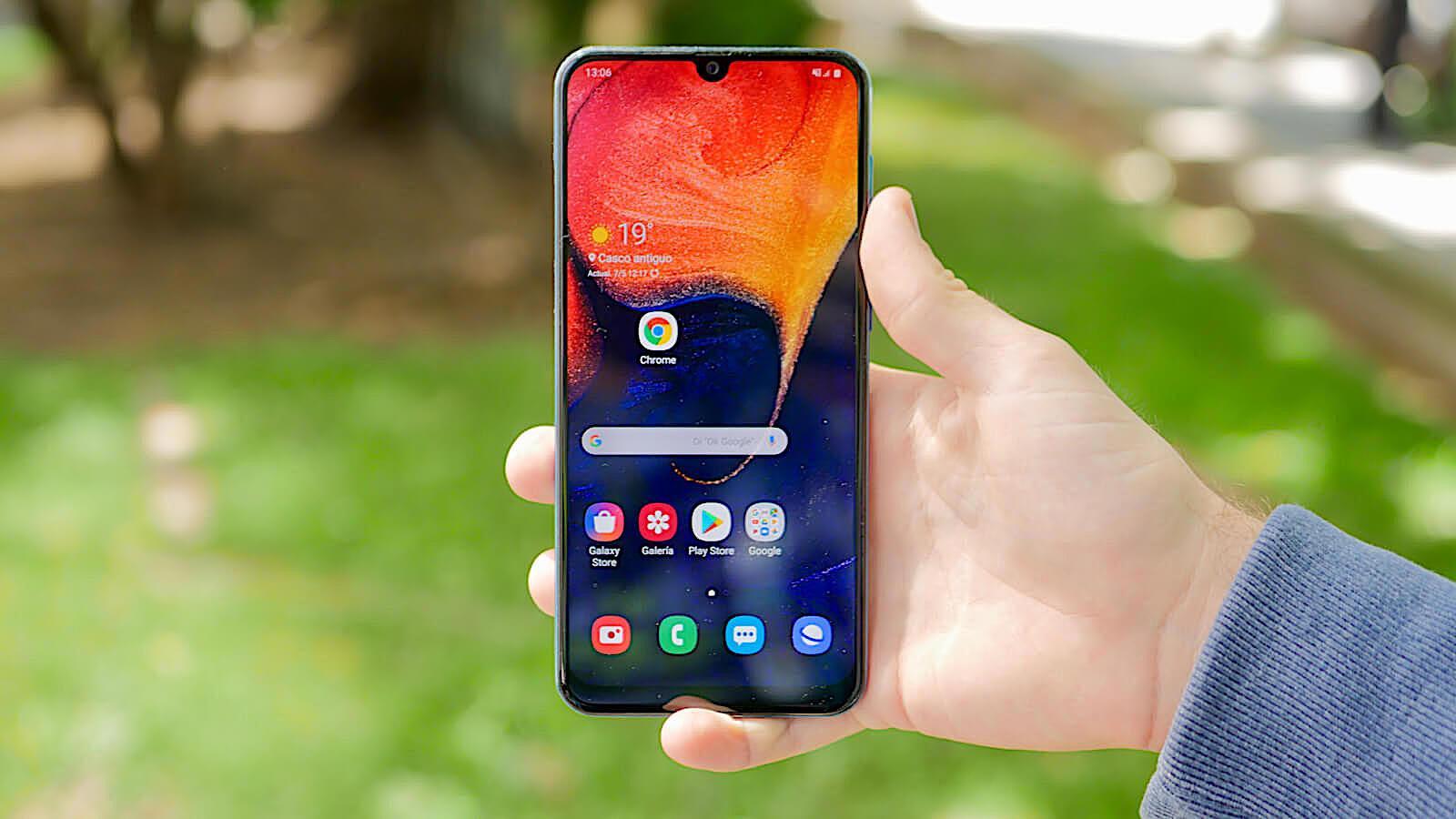 El Samsung Galaxy A50, por 253€ en Amazon España con esta oferta
