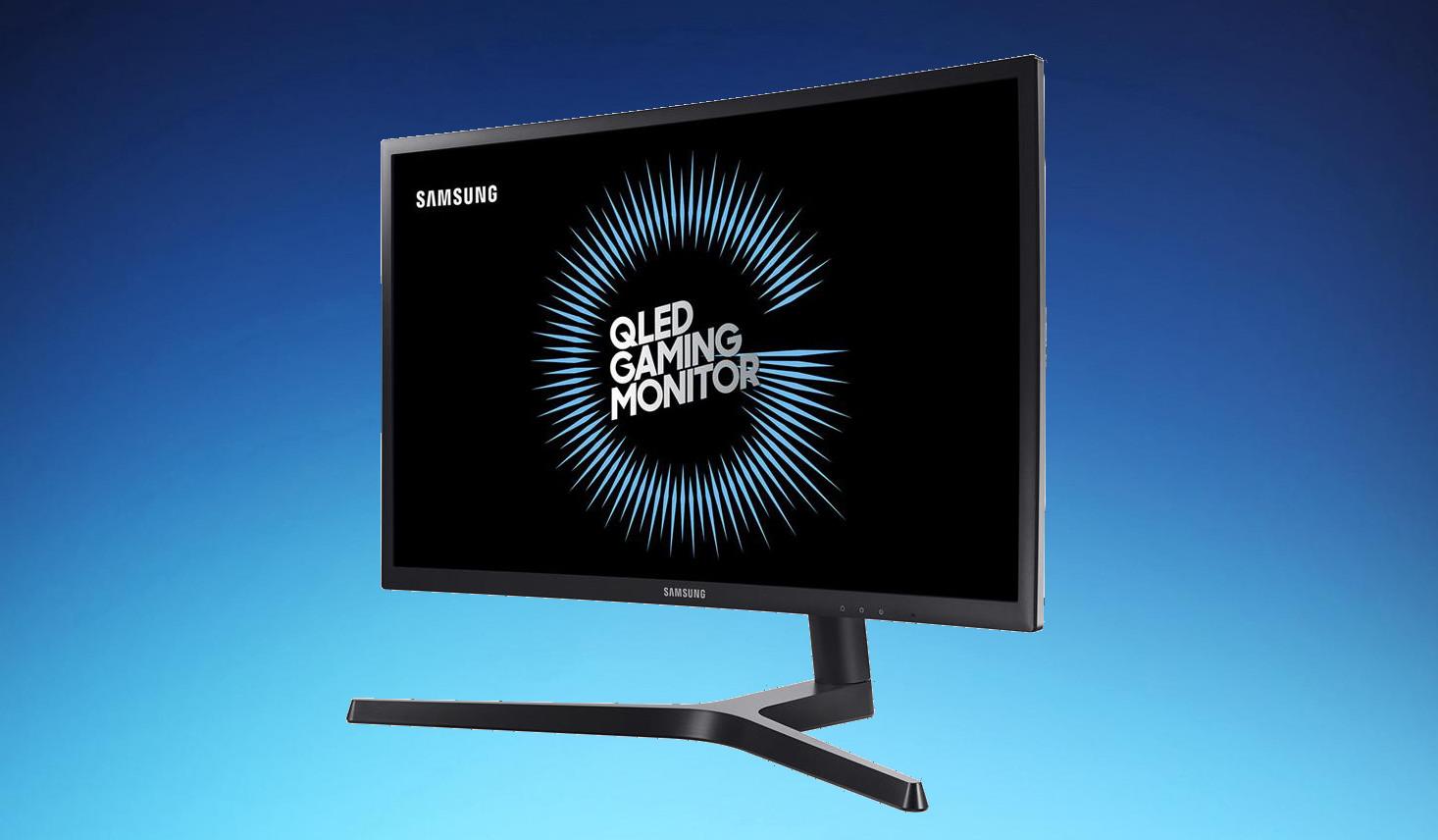 Este monitor curvo QLED está en oferta en Amazon y es perfecto para trabajar y jugar