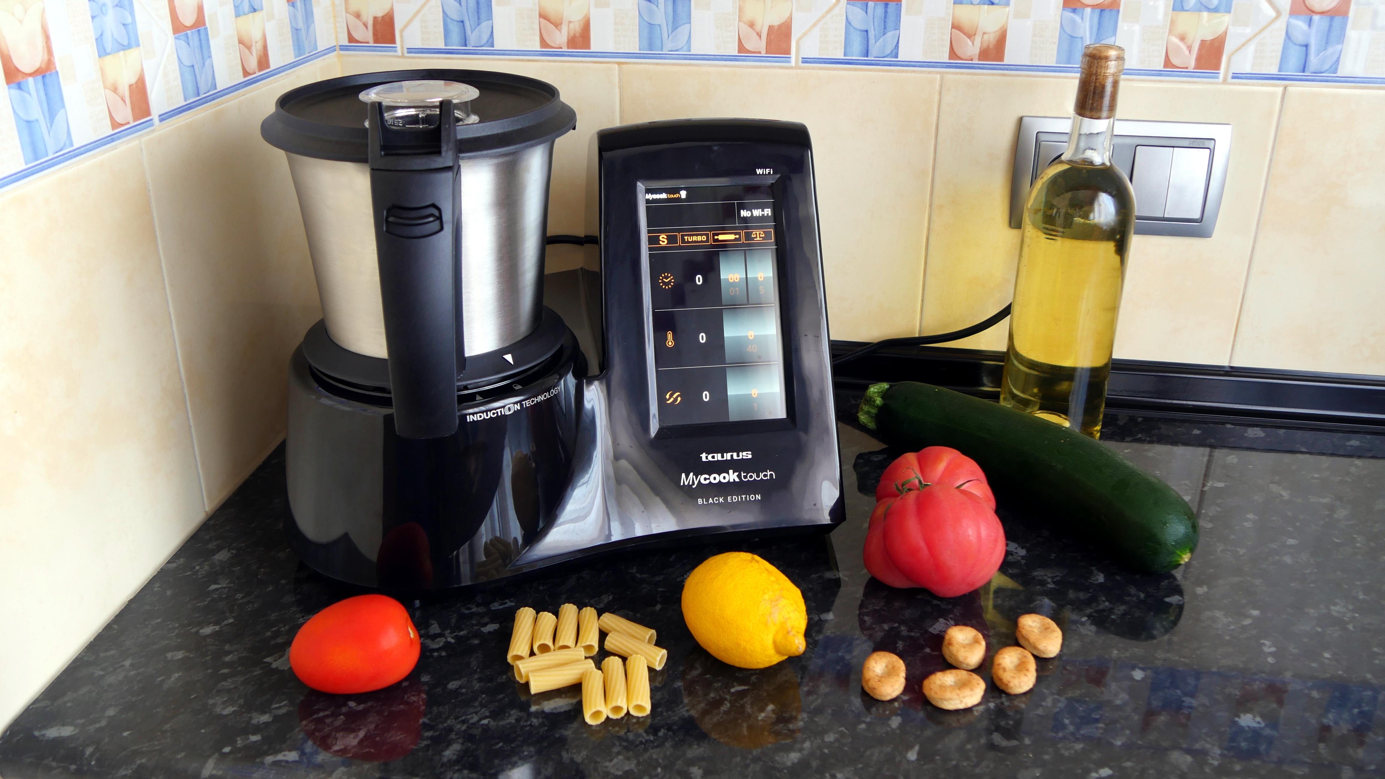 Mycook Touch Black Edition El Robot De Cocina Más Avanzado De Taurus Se Viste De Gala Tecnología Computerhoy Com