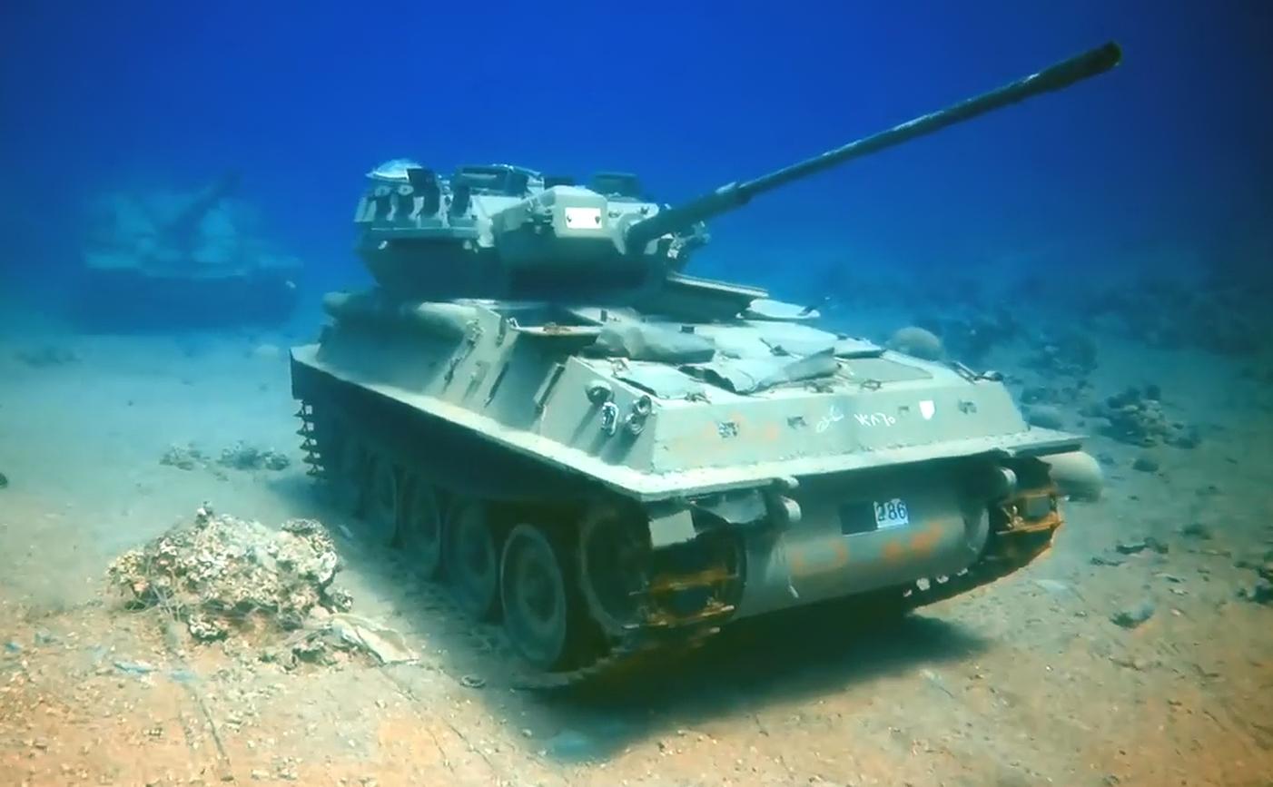 Ya puedes visitar el primer museo militar... bajo el mar