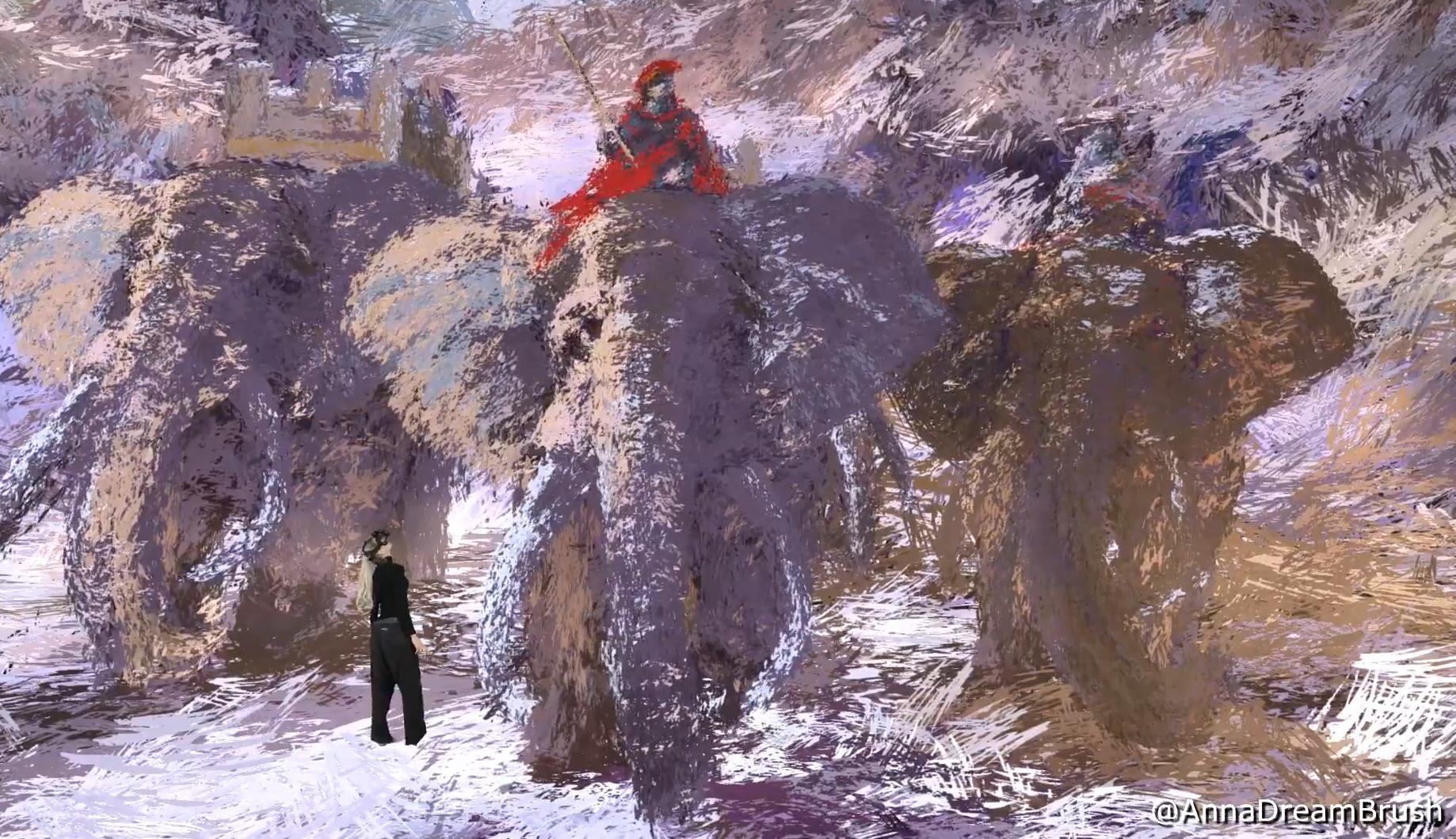 El futuro del arte: así pinta una artista un cuadro en realidad virtual