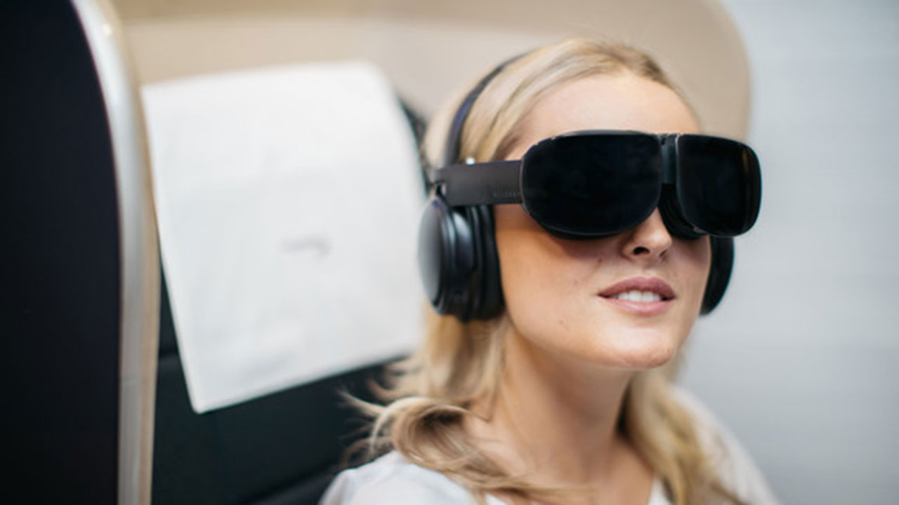 Esta aerolínea británica está probando la realidad virtual en algunos de sus vuelos