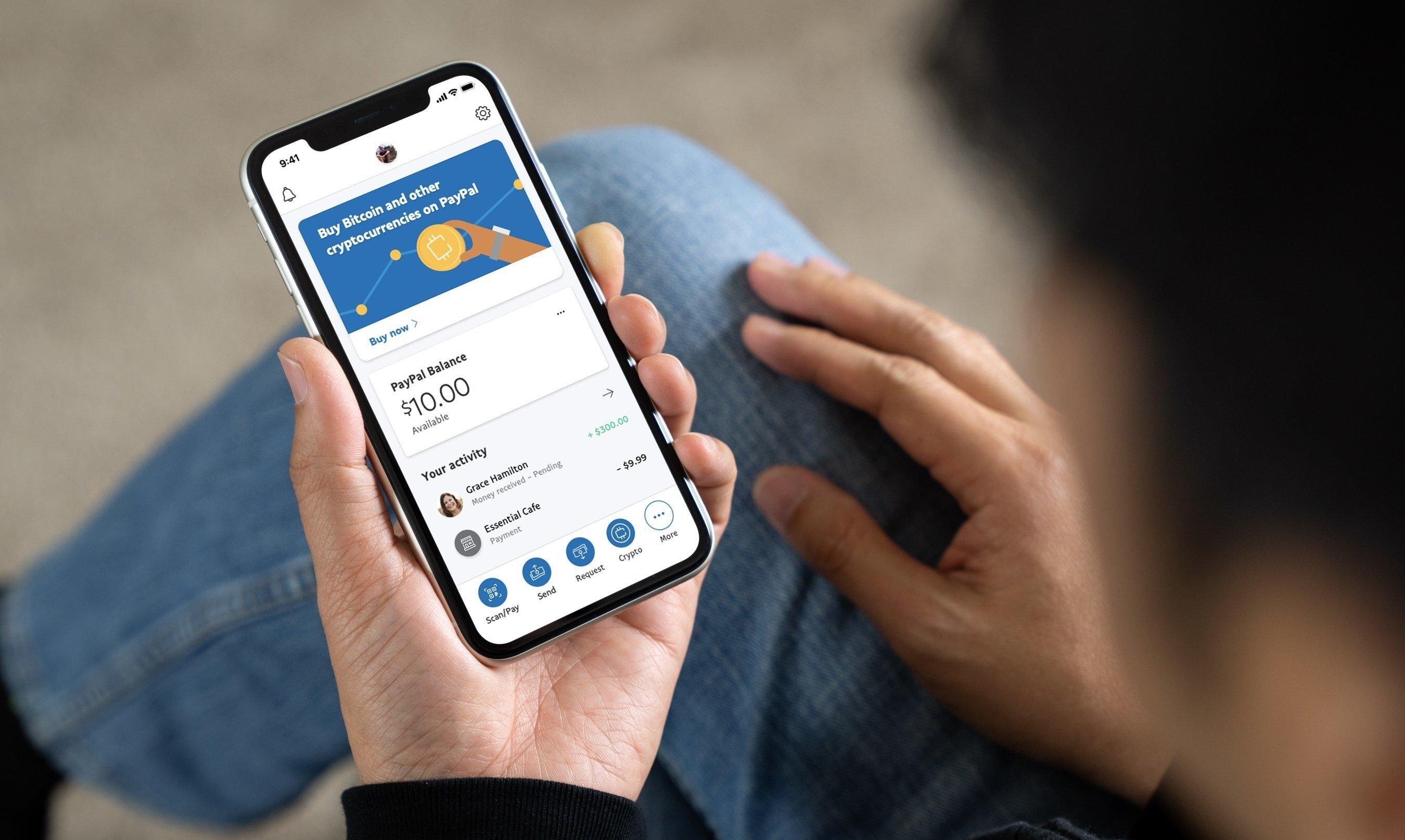 bitcoin usando paypal