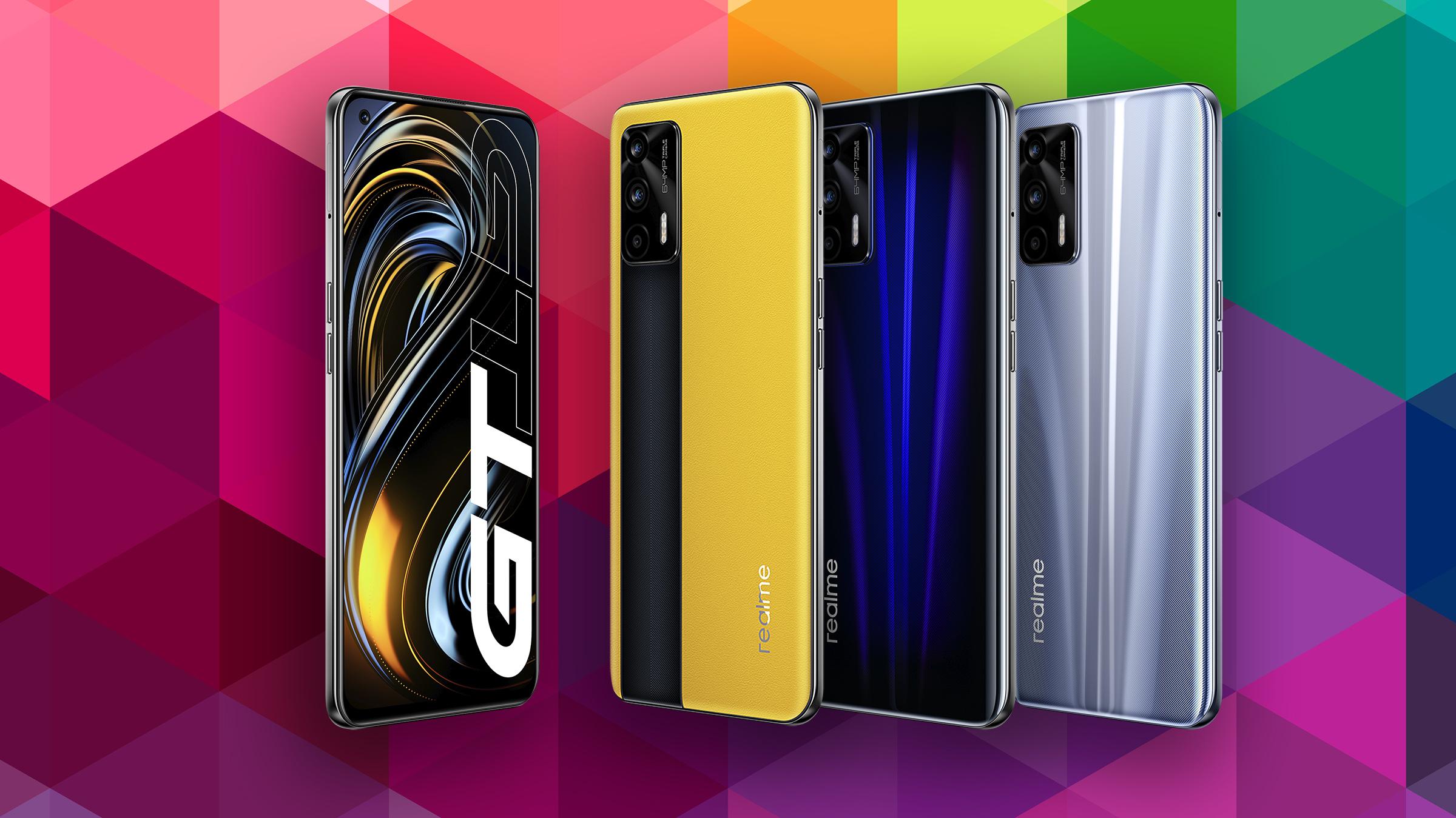 El realme GT es el matagigantes de 2021 con su Snapdragon 888 y el panel SuperAMOLED a 120 Hz