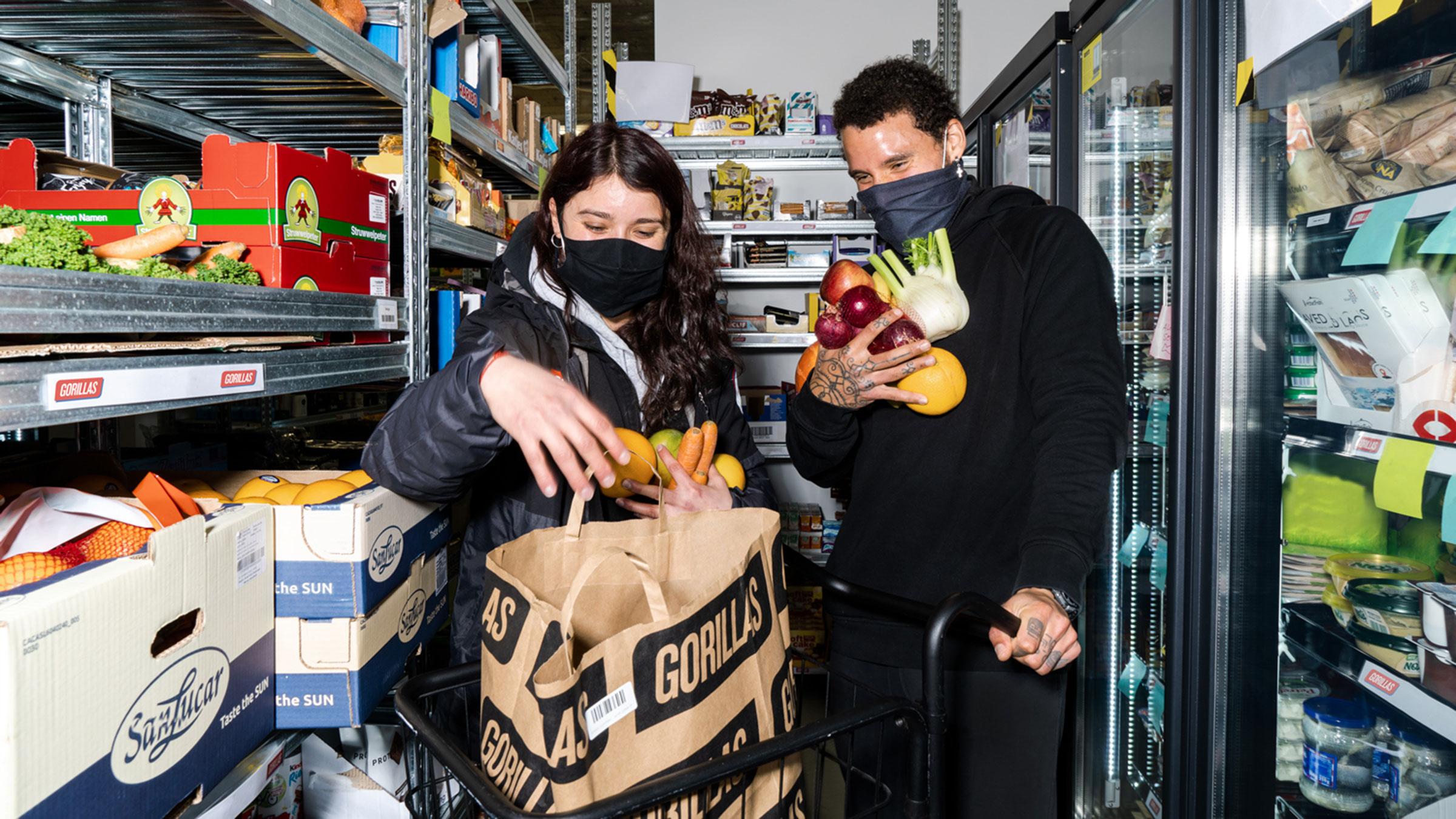 Qué es y cómo funciona Gorillas, el supermercado fantasma que ya está disponible en España