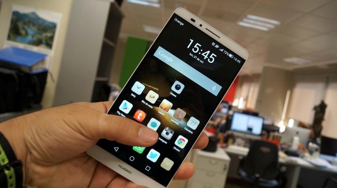Fotografías Huawei Ascend Mate 7
