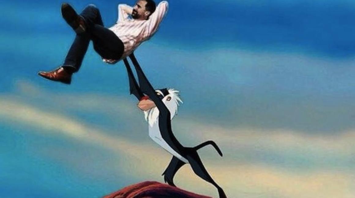 meme de Felipe VI nuevo Rey León 2014