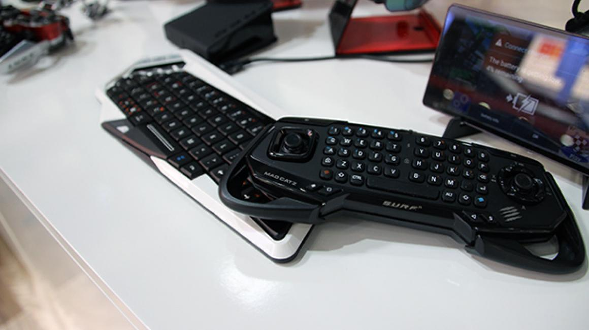 El SURF R es el teclado más pequeño del catalogo de Mad Catz