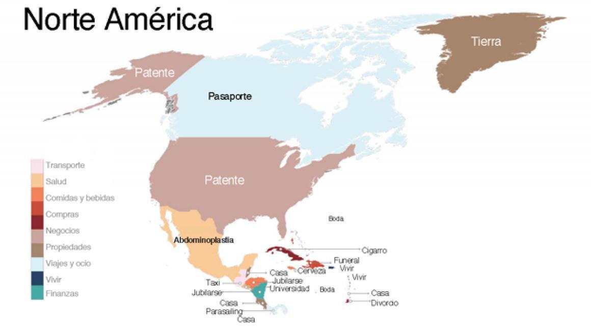 palabras más buscadas en Google Norte América