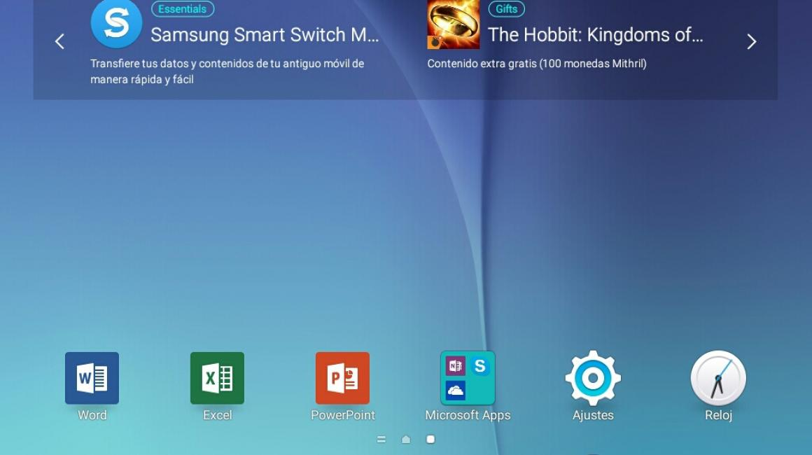 Samsung Galaxy Tab A (Interfaz)