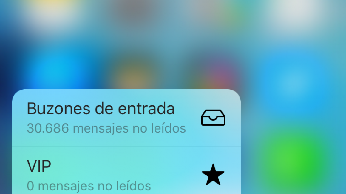 Pantalla 3D Touch del iPhone 6S
