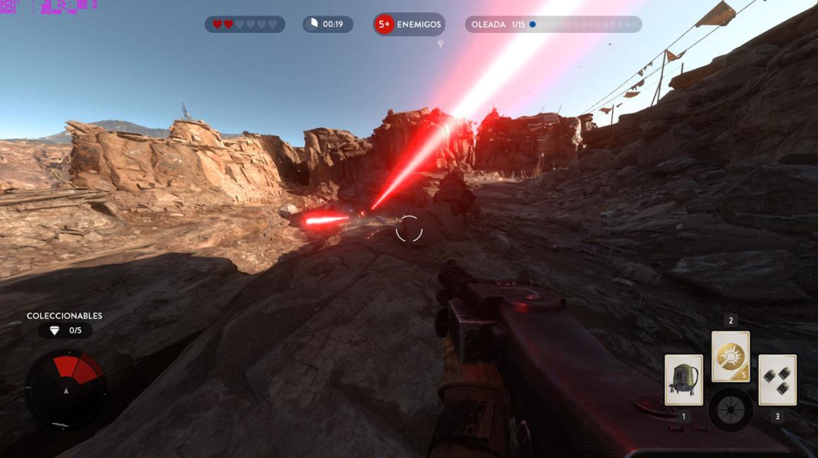 acer predator 15, captura del Starwars Battlefront
