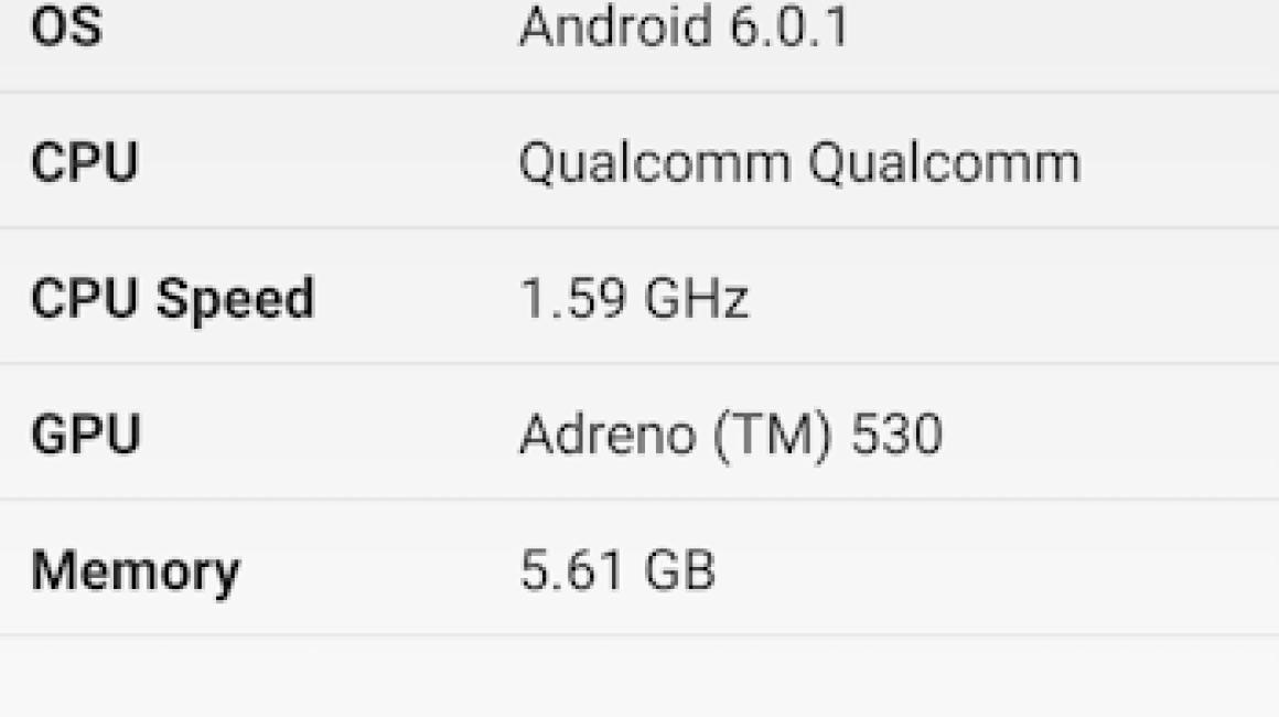 OnePlus 3 Geekbench