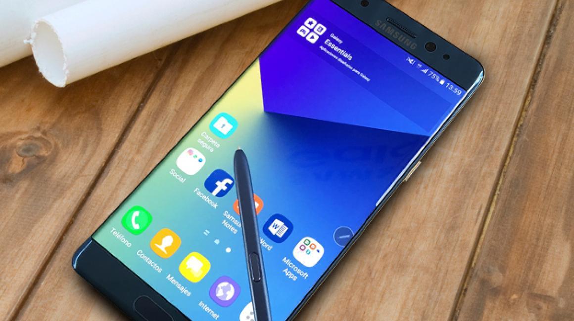 Samsung Galaxy Note 7: galería de imágenes