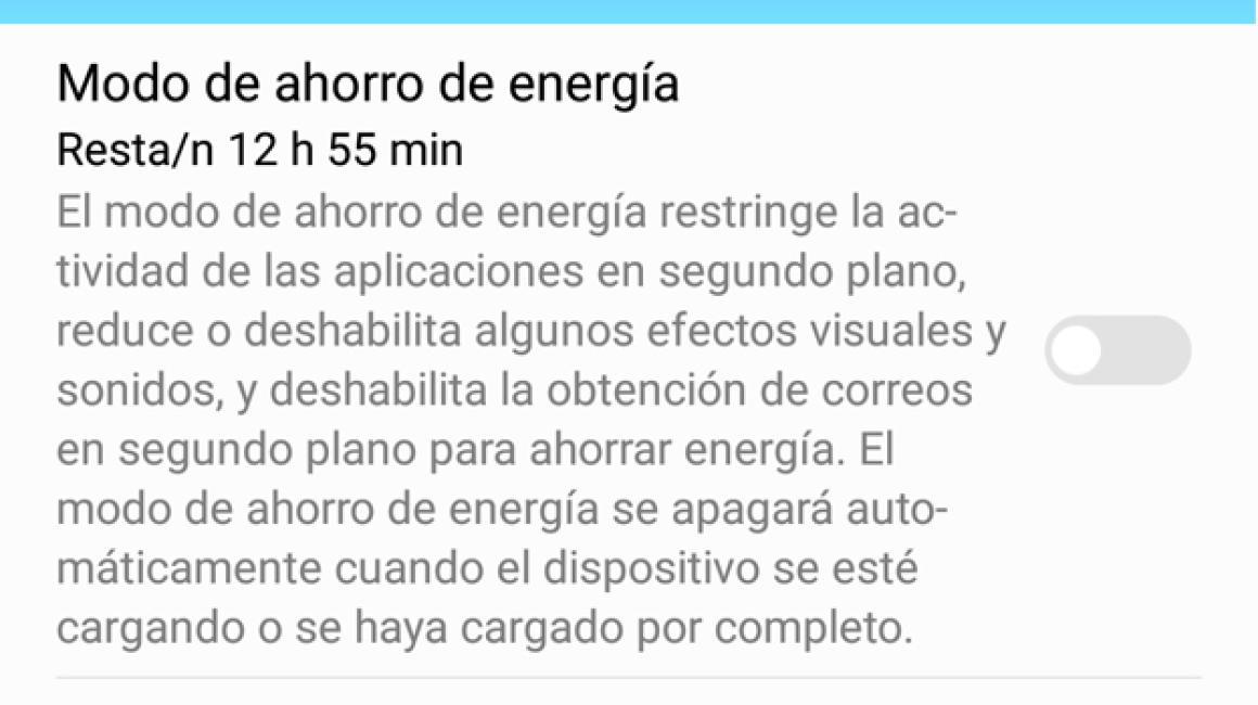 Resultados de la batería del Mate 9 con un 16 por ciento de autonomía