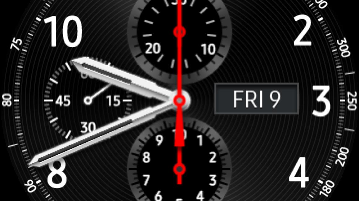 Interfaz del Samsung Gear S3