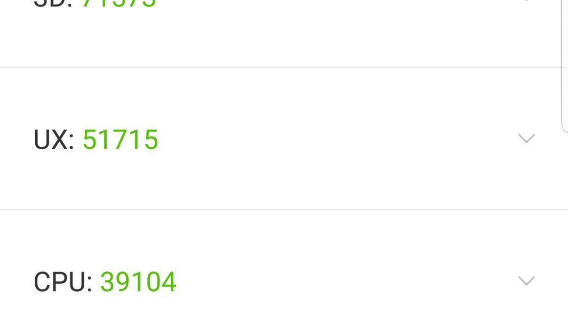 En AnTuTu, el Samsung Galaxy S8+ obtiene 172.794 puntos