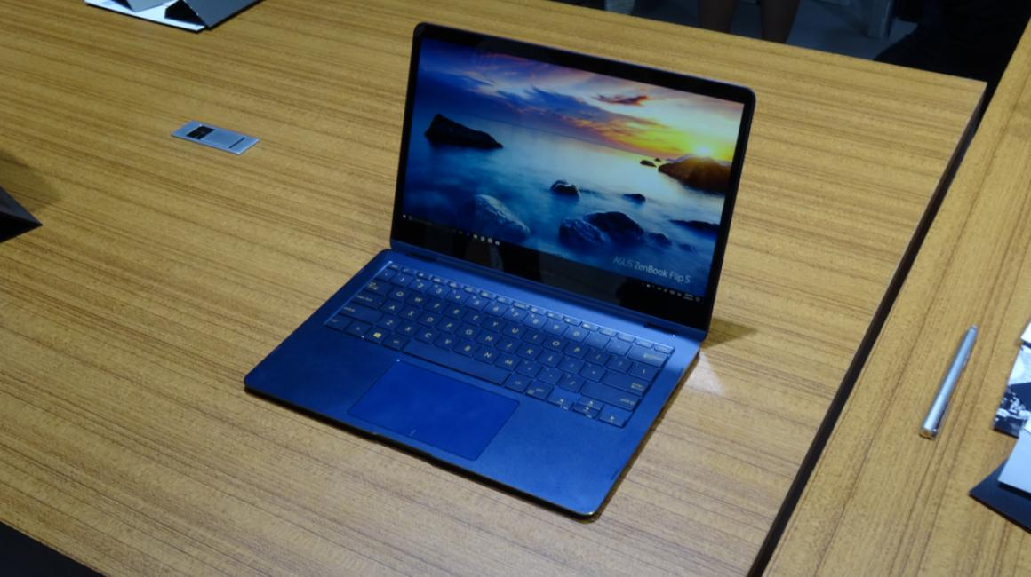ASUS ZenBook Flip S, primeras impresiones en fotografías