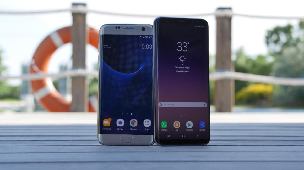 Samsung Galaxy S8+ vs S7 Edge: comparativa de diseño