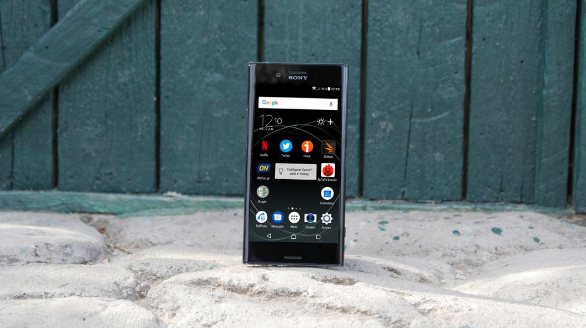 Diseño del Sony Xperia XZ Premium: Fotos del móvil de gama alta