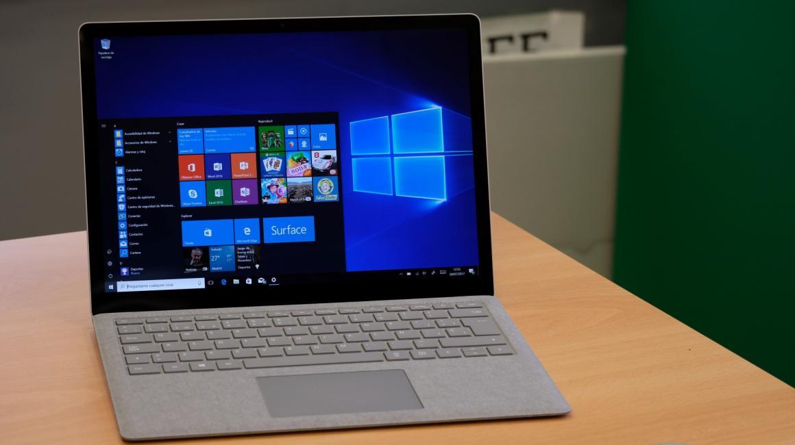 Galería de imágenes del Surface Laptop