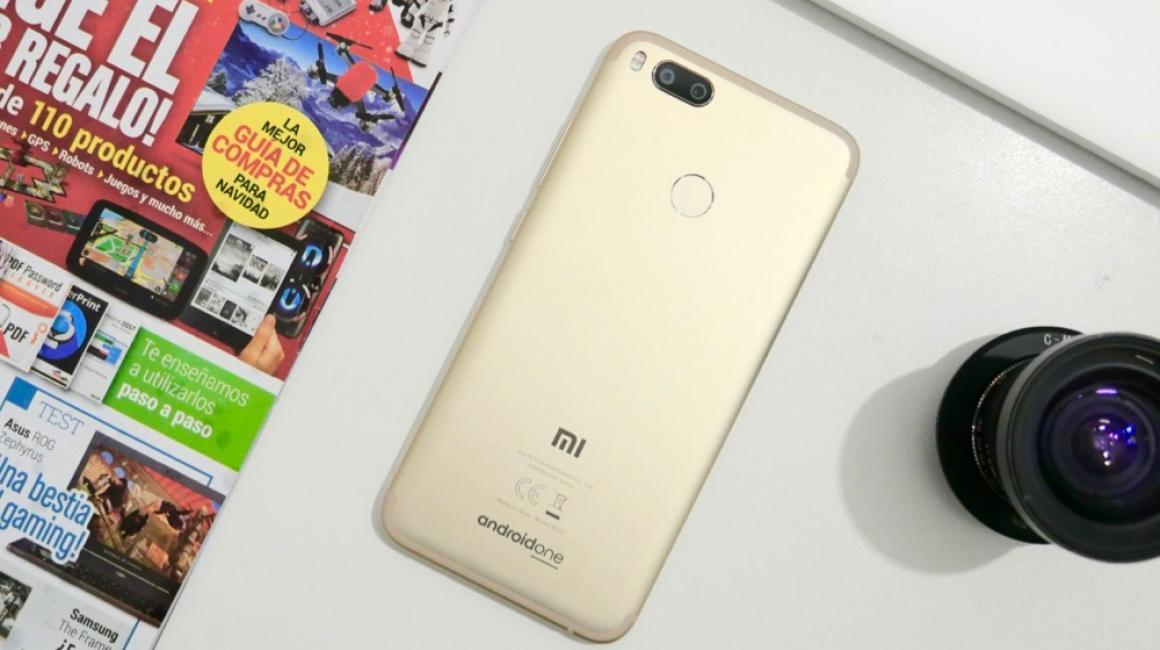 Fotografías del Xiaomi Mi A1